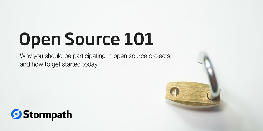 Open Source Projects 101